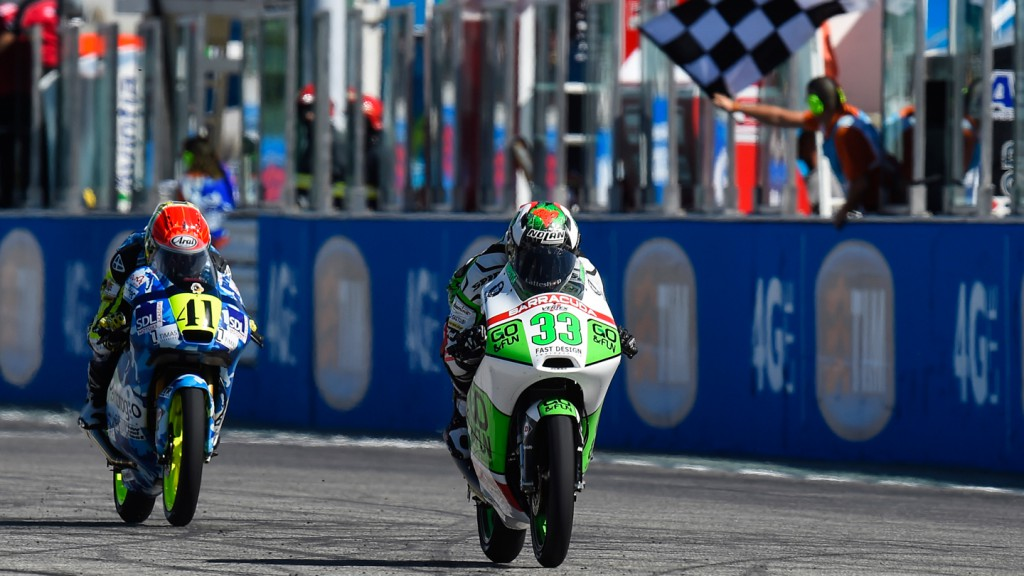 Enea Bastianini, Brad Binder, Ambrogio Racing, Junior Team GO&FUN Moto3, RSM RACE