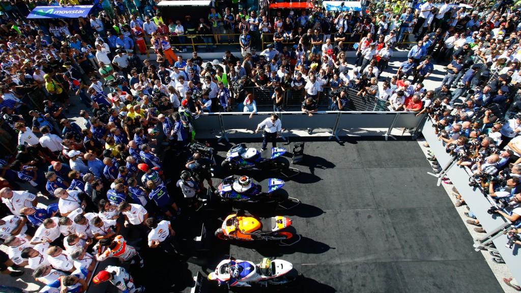 MotoGP Park ferme, RSM RACE