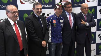 Presentación oficial del Gran Premio Movistar de Aragón en Madrid