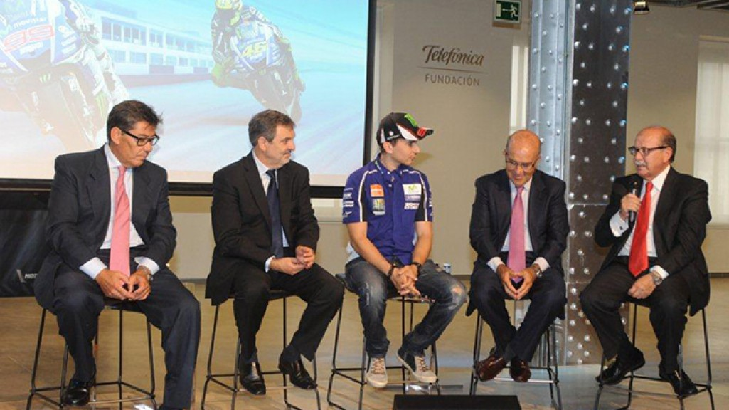 GP Movistar Aragon presentation