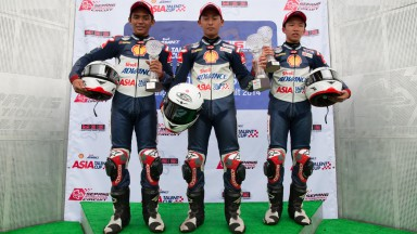 Shell Advance Asia Talent Cup Sepang Race 1 Podium