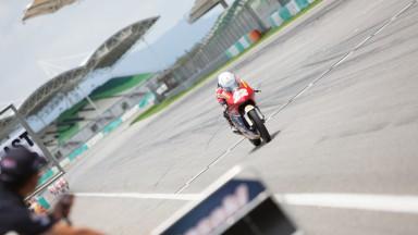 Ayumu Sasaki, Shell Advance Asia talent Cup, Race 2 Sepang