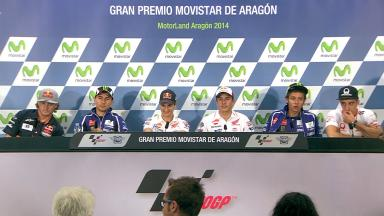 Gran Premio Movistar de Aragón: Pre-event Press Conference