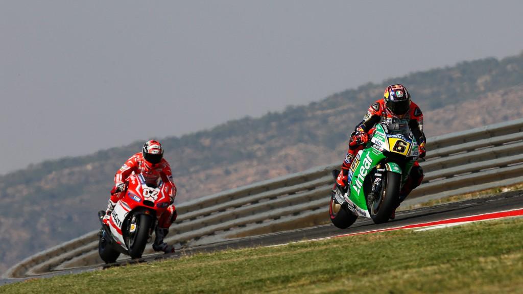 Stefan Bradl, Andrea Dovizioso, Ducati Team, LCR Honda MotoGP, ARA FP2