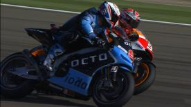 Aragon 2014 - MotoGP - FP1 - Action - Marc Marquez and Danilo Petrucci