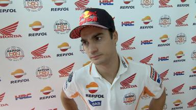 Pedrosa on improvement from FP1 to FP2