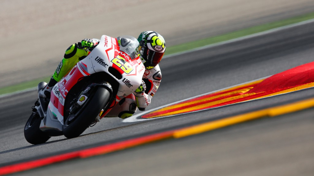 Andrea Iannone, Pramac Racing, ARA FP1