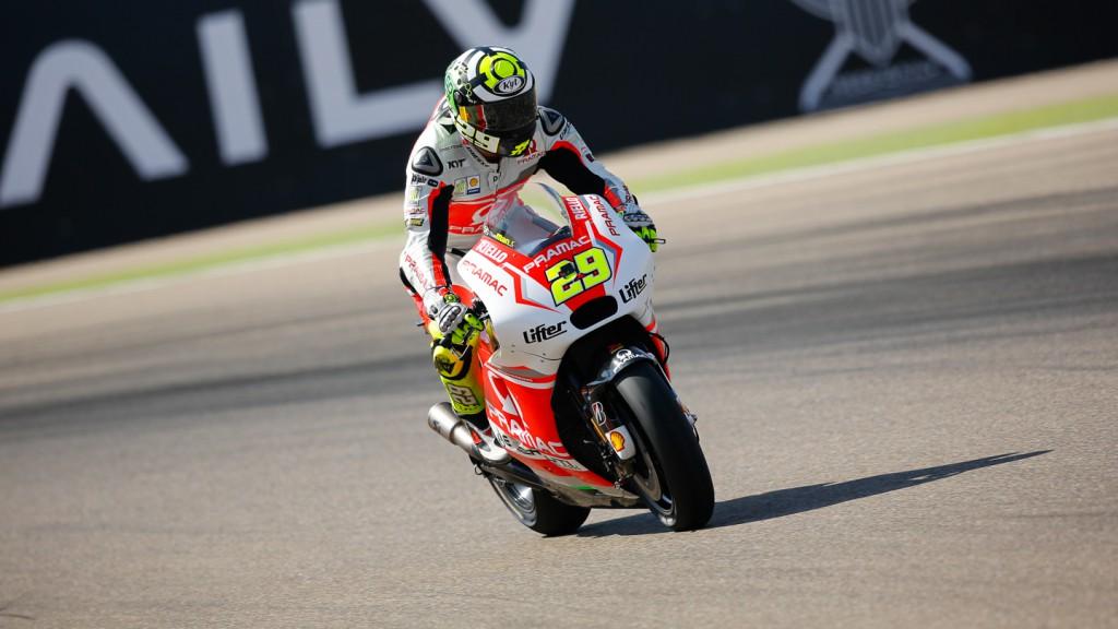 Andrea Iannone, Pramac Racing, ARA FP2