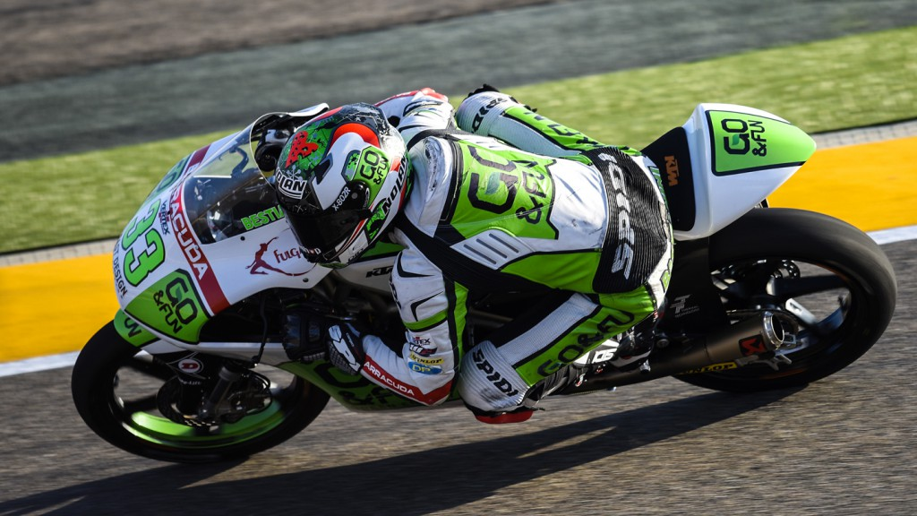 Enea Bastianini, Junior Team GO&FUN Moto3, ARA FP2