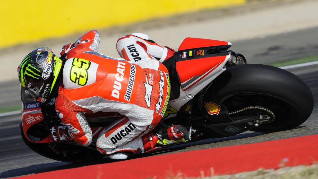 Cal Crutchlow, Ducati Team, ARA FP2