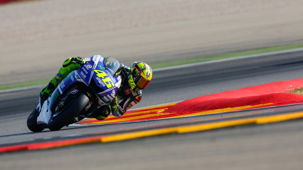 Valentino Rossi, Movistar Yamaha MotoGP, ARA FP1