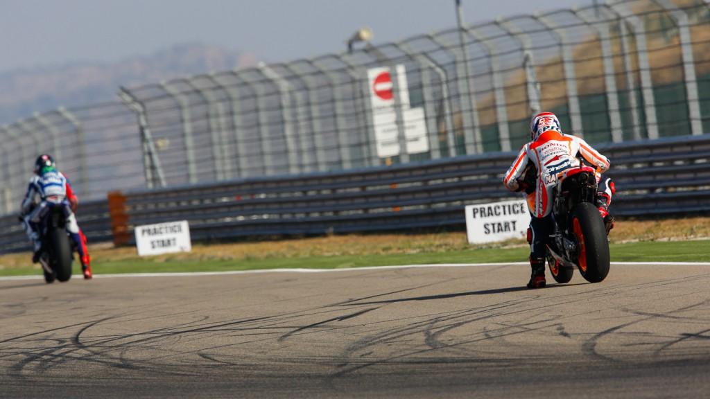 Jorge Lorenzo, Marc Marquez, Movistar Yamaha MotoGP, ARA FP1