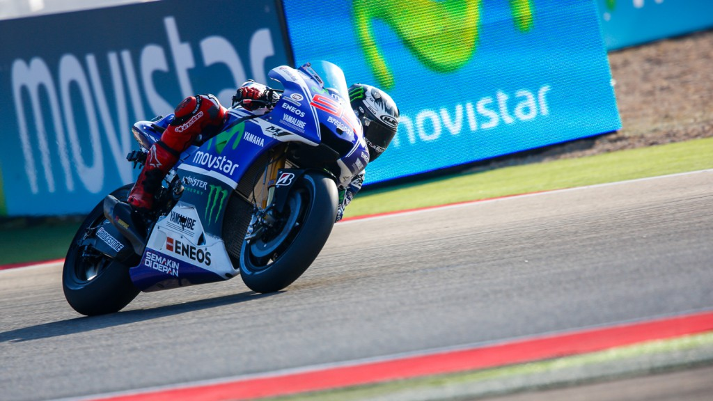 Jorge Lorenzo, Movistar Yamaha MotoGP, ARA FP1