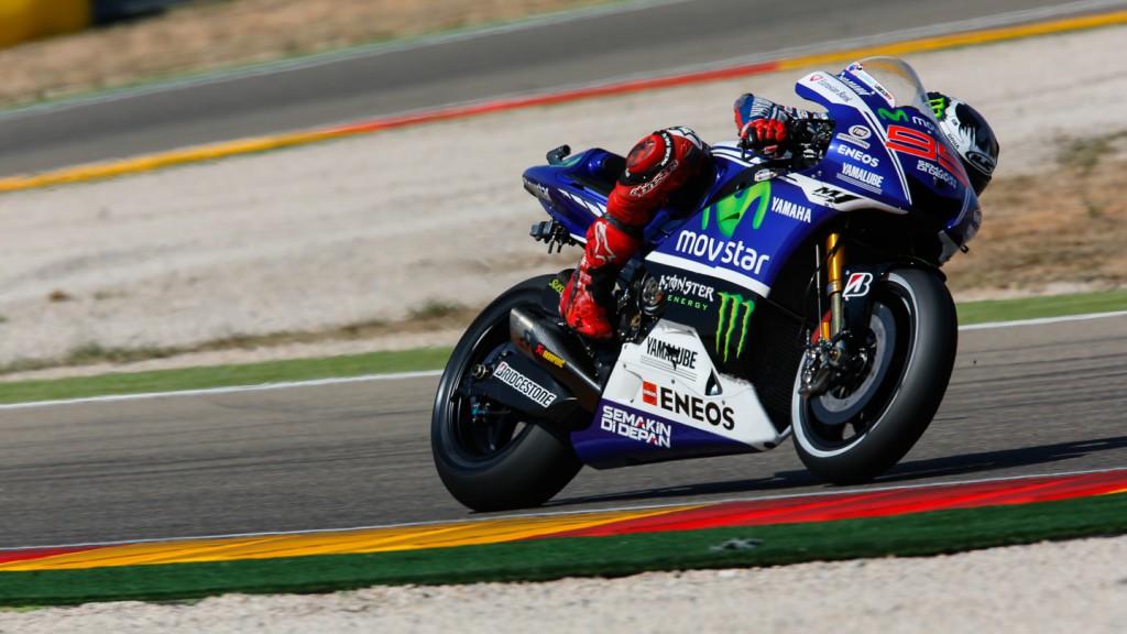 Jorge Lorenzo, Movistar Yamaha MotoGP, ARA FP2