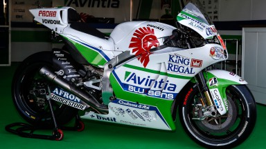Hector Barbera's bike, Avintia Racing, ARA
