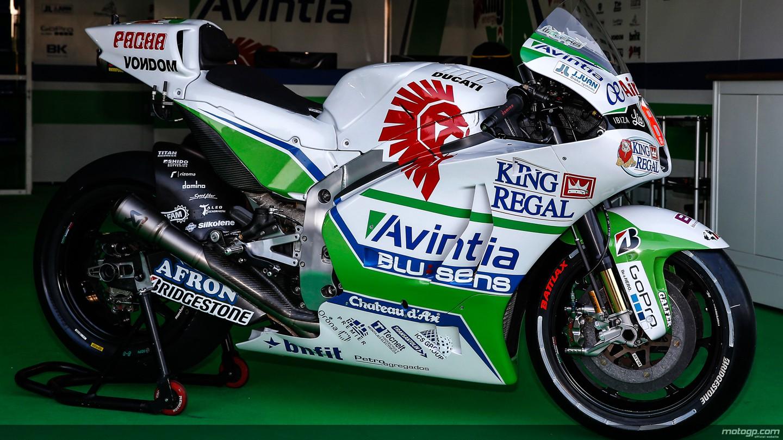 motogp.com · Hector Barbera's bike, Avintia Racing, ARA