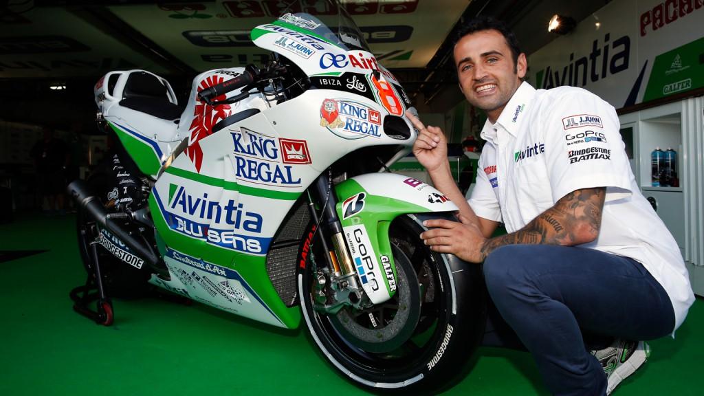 Hector Barbera, Avintia Racing, ARA