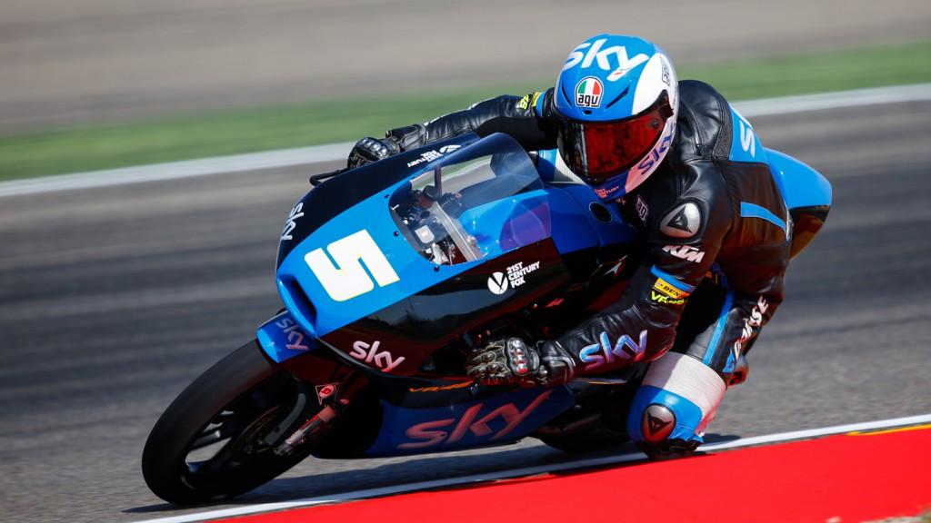 Romano Fenati, SKY Racing Team  VR46, ARA FP3