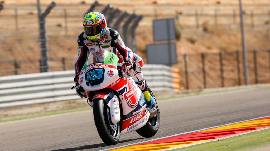 Xavier Simeon, Federal Oil Gresini Moto2, ARA QP