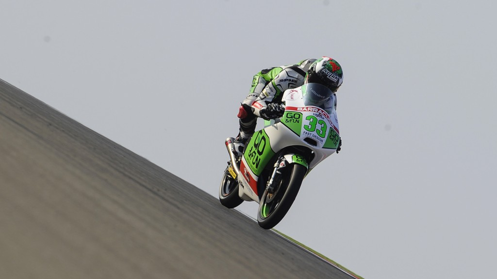 Enea Bastianini, Junior Team GO&FUN Moto3, ARA QP