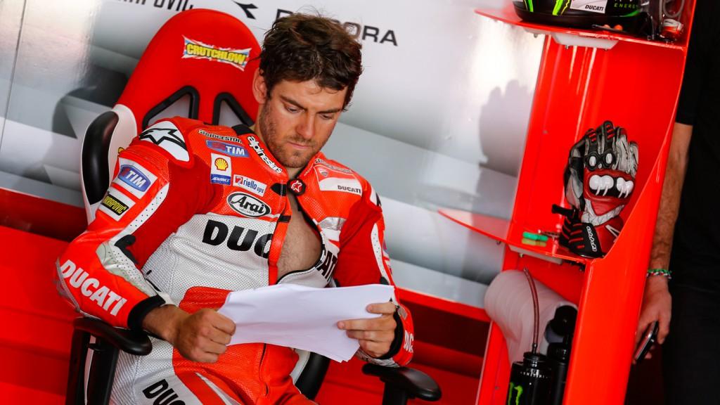 Cal Crutchlow, Ducati Team, ARA Q2