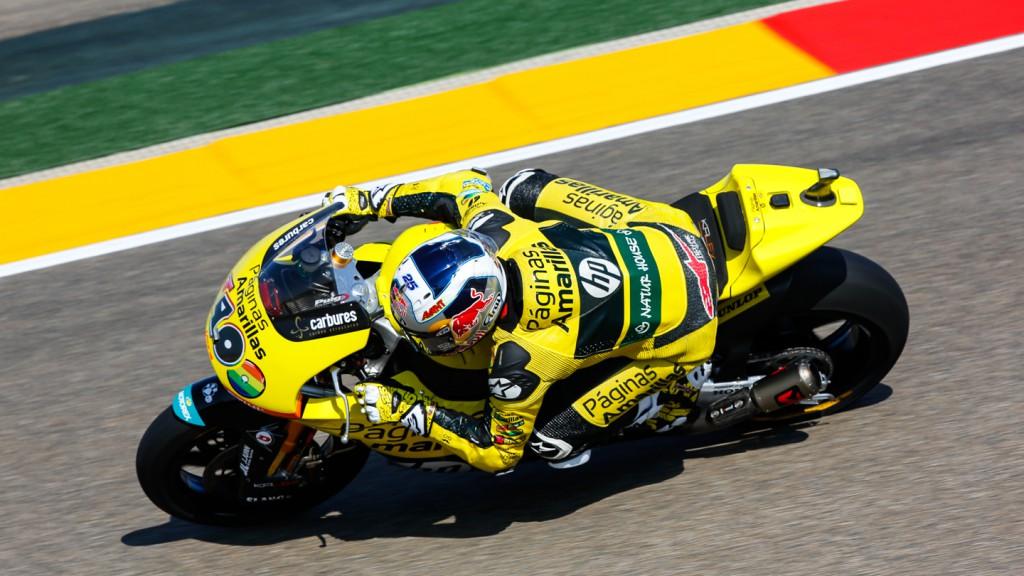 Maverick Viñales, Paginas Amarillas HP 40, ARA QP