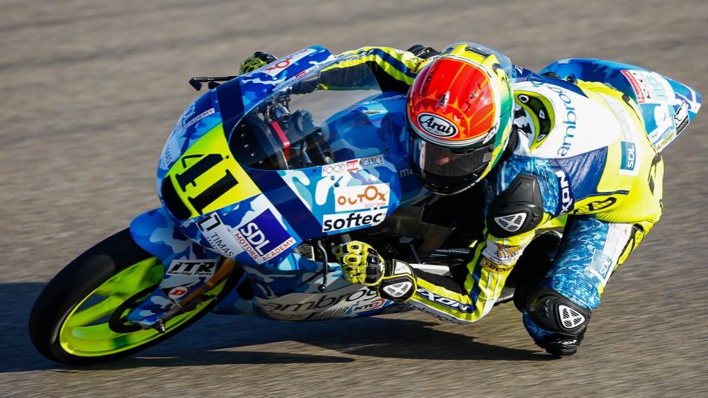 Brad Binder, Ambrogio Racing, ARA QP