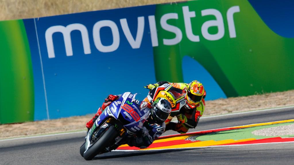 Jorge Lorenzo, Aleix Espargaro, Movistar Yamaha MotoGP, NGM Forward Racing, ARA FP3