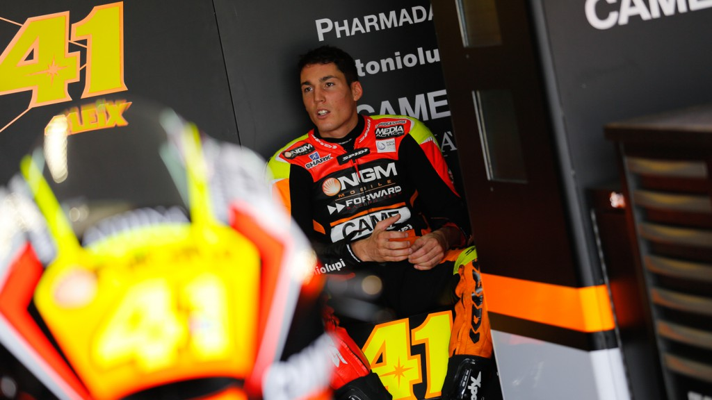 Aleix Espargaro, NGM Forward Racing, ARA Q2