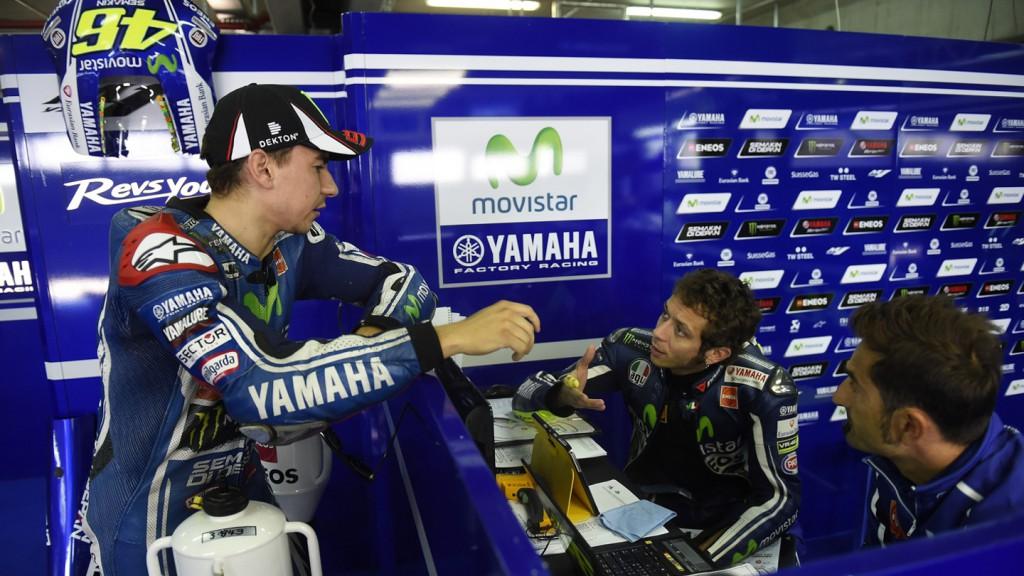 Jorge Lorenzo, Valentino Rossi, Movistar Yamaha MotoGP, ARA Q2