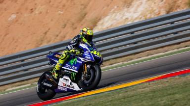 Valentino Rossi, Movistar Yamaha MotoGP, ARA Q2