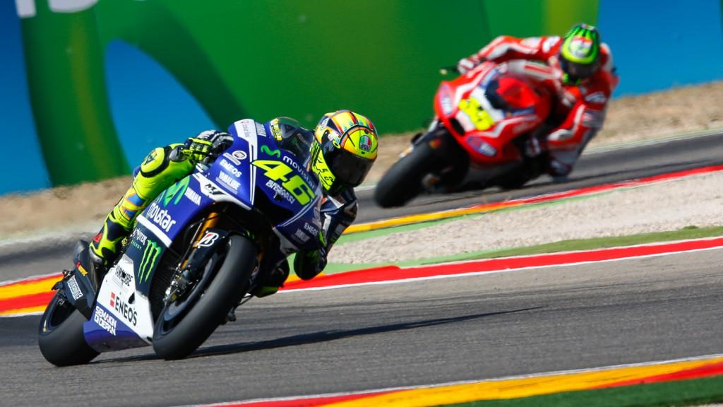 Valentino Rossi, Movistar Yamaha MotoGP, ARA FP4