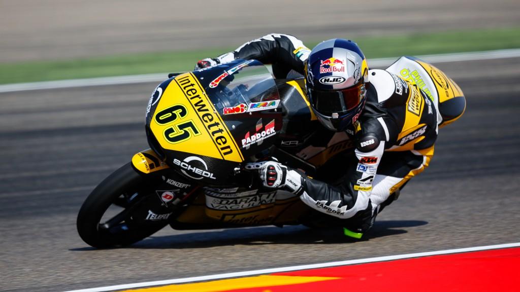Philipp Oettl, Interwetten Paddock Moto3, ARA QP