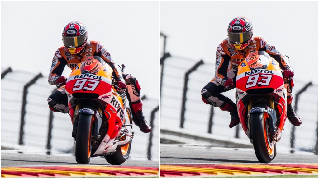 Marc Marquez, Repsol Honda Team, ARA Q2 © Copyright Xavi Bonilla