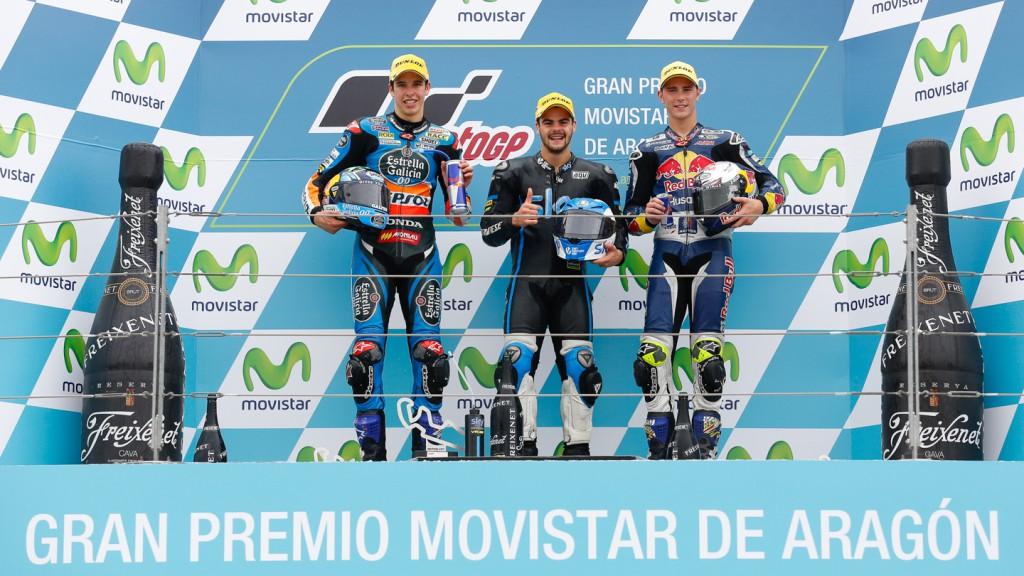 Podium Moto3, ARA RACE
