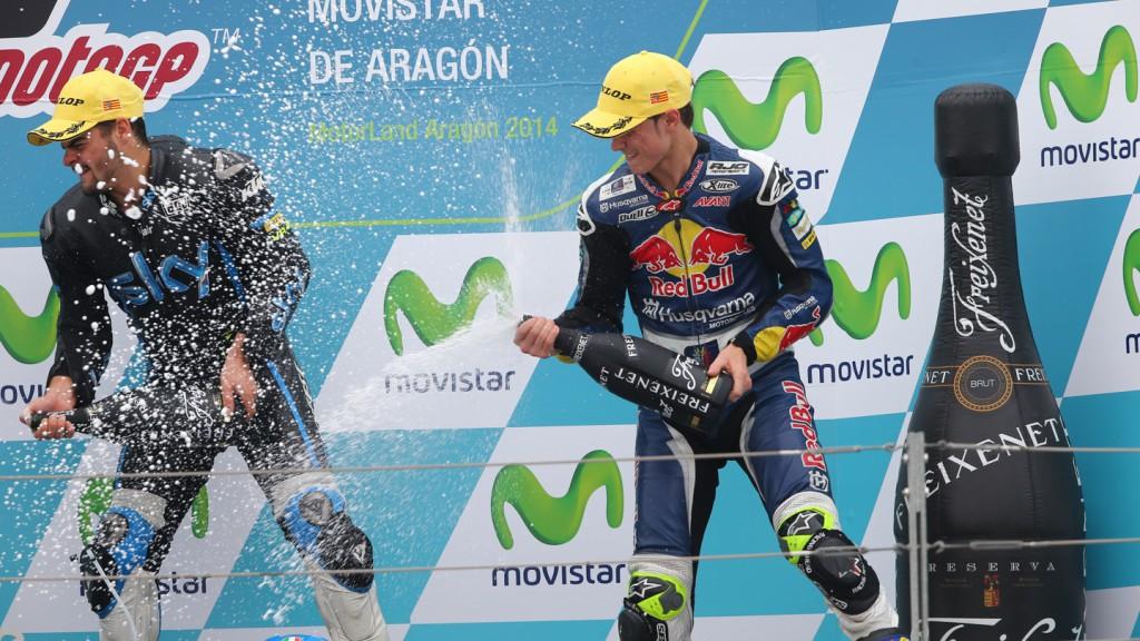 Romano Fenati, SKY Racing Team  VR46, Danny Kent, Red Bull Husqvarna Ajo, ARA