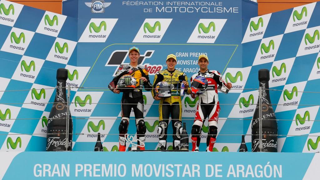 Podium Moto2, ARA RACE