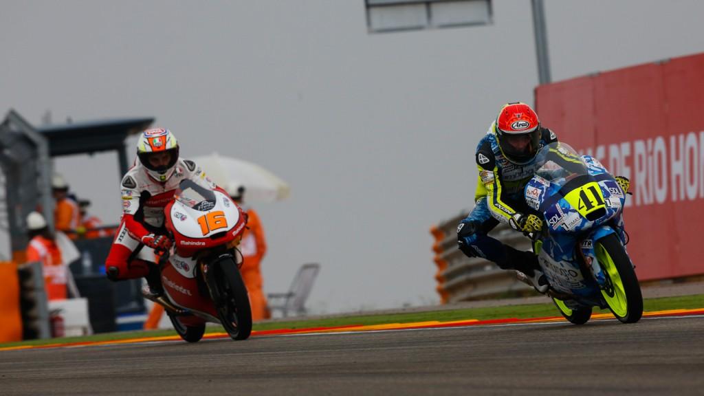 Brad Binder, Andrea Migno, Ambrogio Racing, Mahindra Racing, ARA RACE