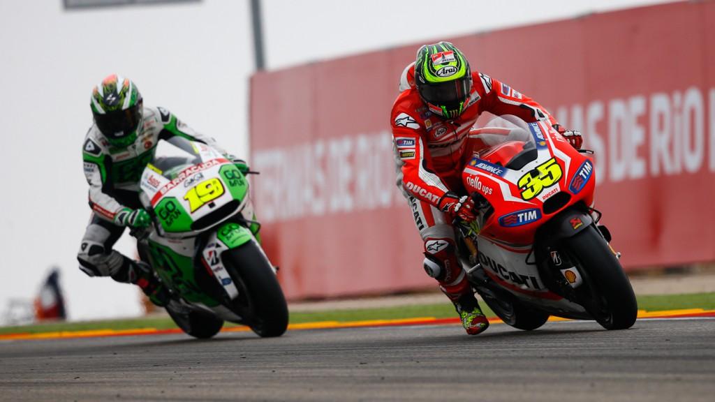 Cal Crutchlow, Ducati Team, ARA RACE