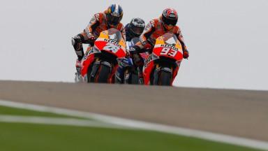 Marc Marquez, Dani Pedrosa, Repsol Honda Team, ARA RACE