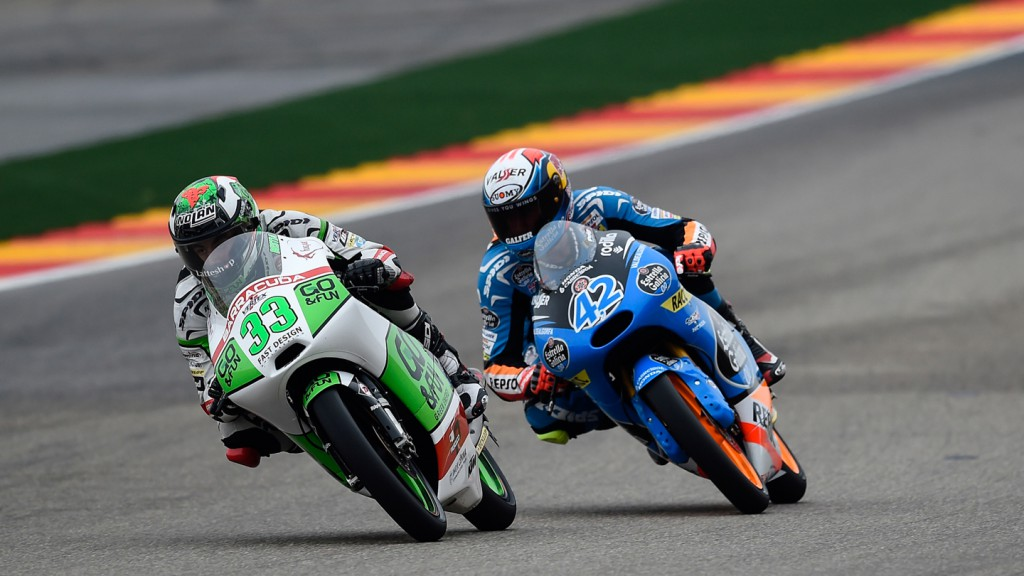 Enea Bastianini, Junior Team GO&FUN Moto3, ARA RACE