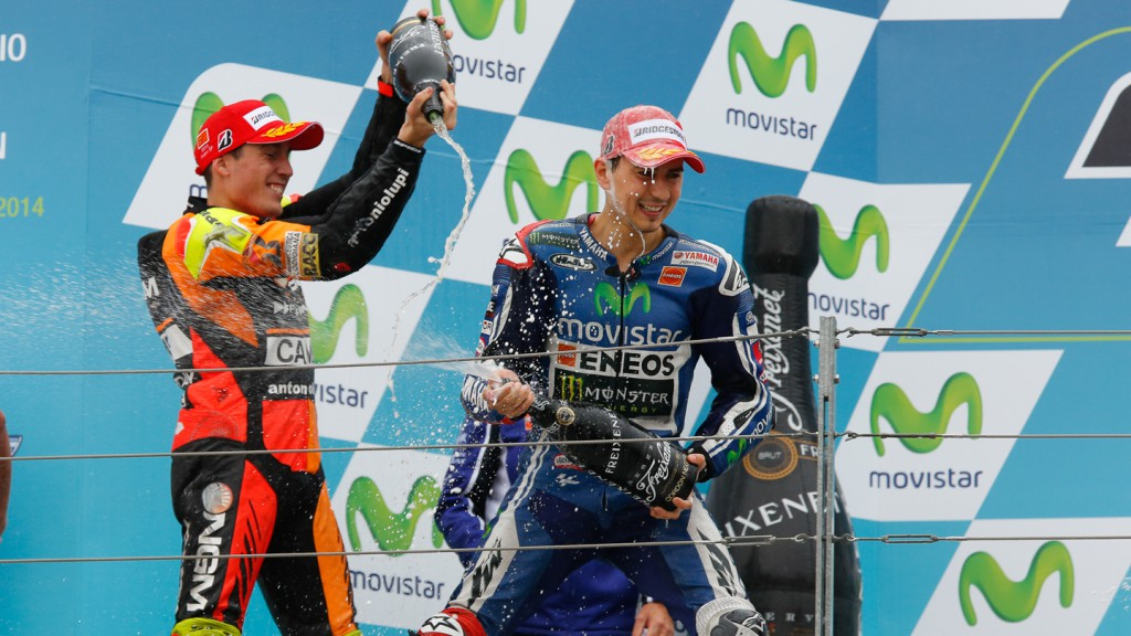 Jorge Lorenzo, Aleix Espargaro, Movistar Yamaha MotoGP, NGM Forward Racing, ARA RACE