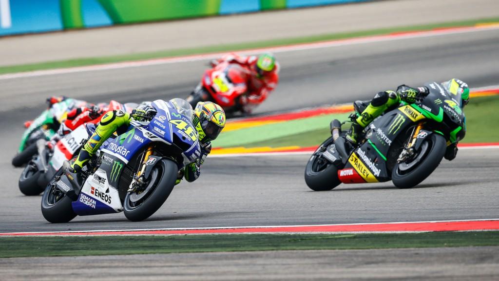Valentino Rossi, Movistar Yamaha MotoGP, ARA RACE