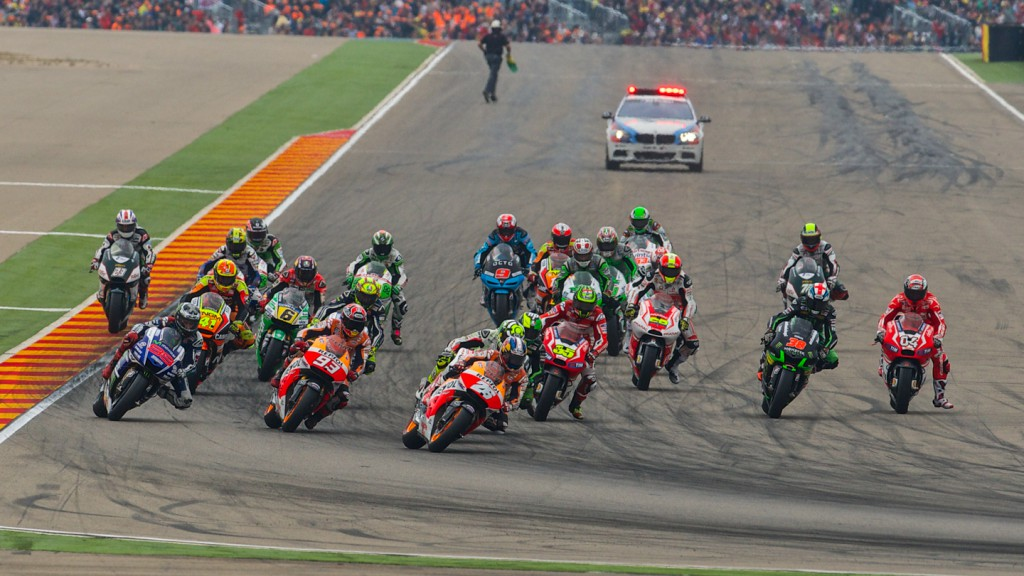 MotoGP Start, ARA RACE