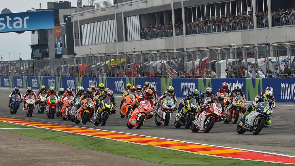 Moto2 Start, ARA RACE