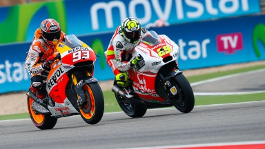 Andrea Iannone, Marc Marquez, Pramac Racing, Repsol Honda Team, ARA RACE