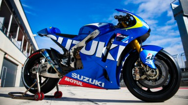Suzuki MotoGP Test Team