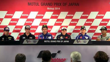 Motul Grand Prix of Japan: Pre-event Press Conference