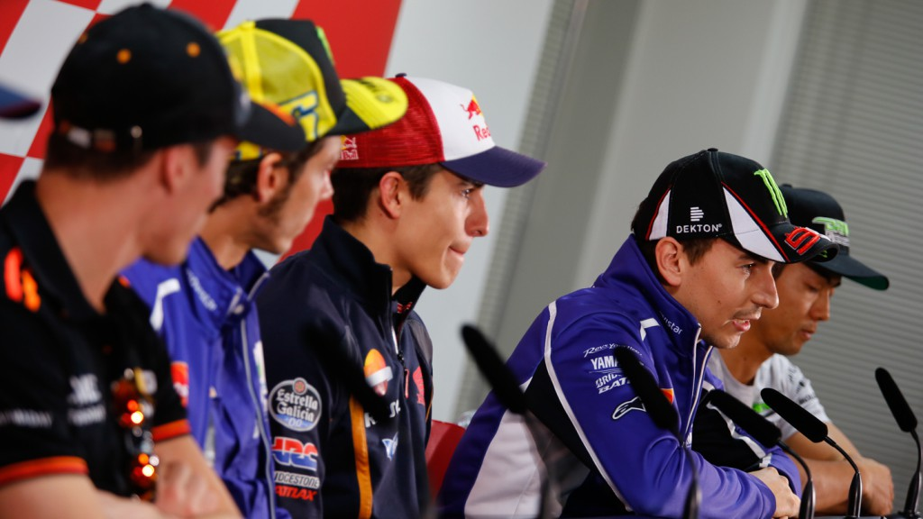 Motul Grand Prix of Japan Press conference