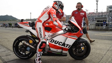 Andrea Dovizioso, Ducati Team, JPN FP2